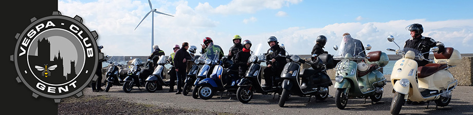 VESPA CLUB GENT Rotating Header Image